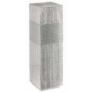 Currey & Company Home Odense Silver Pedestal