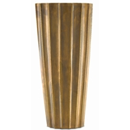 Currey & Company Home Sabine Large Fluted Vase