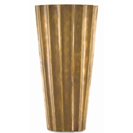 Currey & Company Home Sabine Small Fluted Vase