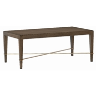 Currey & Company Home Verona Chanterelle Cocktail Table 3000-0115 - Chanterelle/Champagne