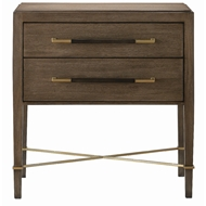 Currey & Company Home Verona Chanterelle Nightstand 3000-0117 - Chanterelle/Coffee/Champagne