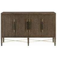 Currey & Company Home Verona Chanterelle Sideboard 3000-0119 - Chanterelle/Coffee/Champagne