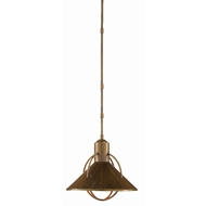 Currey & Company Lighting Aldington Pendant 9000-0408 - Vintage Brass