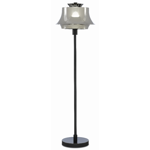 Currey & Company Lighting Altson Nickel Table Lamp 6000-0379 - Polished Nickel/Oil Rubbed Bronze