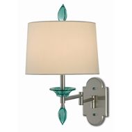 Currey & Company Lighting Blodgett Swing-Arm Wall Sconce