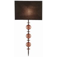 Currey & Company Lighting Coppet Wall Sconce 5900-0025 - Copper Antique/Polished Copper