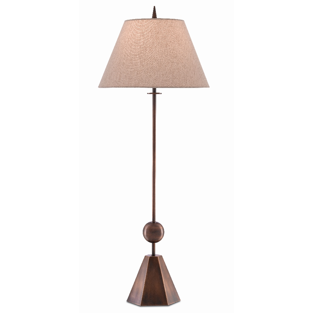 Currey & Company Lighting Cupulo Table Lamp 6000-0399 - Copper Antique