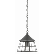 Currey & Company Lighting Kabuto Pendant 9000-0394 - Hiroshi Gray