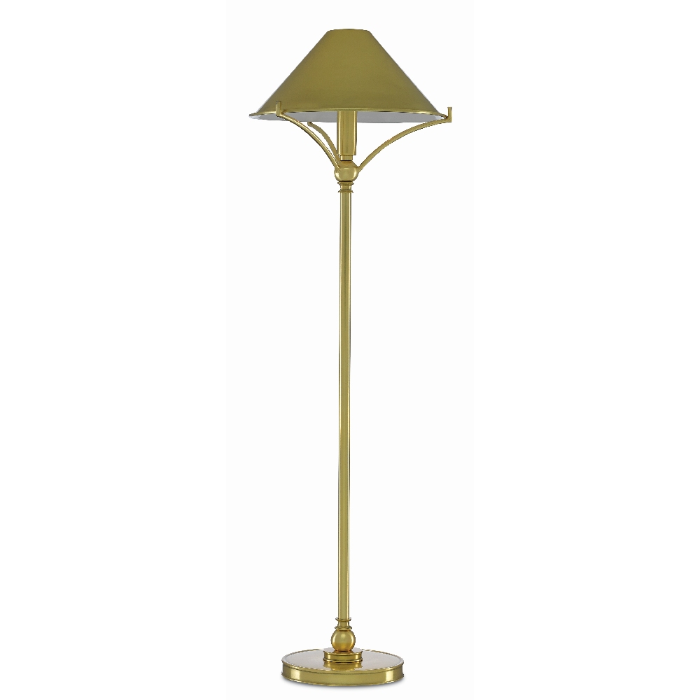 Currey Company Lighting Maarla Brass Table Lamp 6000 0376 Pld