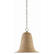 Currey & Company Lighting Pharrell Pendant 9000-0398 - Natural/Smokewood