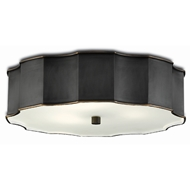Currey & Company Lighting Wexford Bronze Flush Mount 9999-0046 - Oil Rubbed Bronze