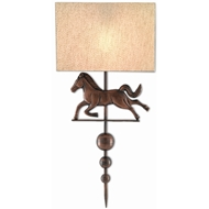 Currey & Company Lighting Wystan Wall Sconce 5900-0026 - Copper Antique