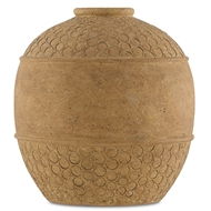 Currey & Company Home Lubao Large Vase 1200-0068 - Speckled Terracotta