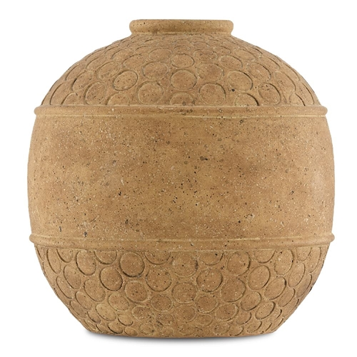 Currey & Company Home Lubao Small Vase 1200-0067 - Speckled Terracotta