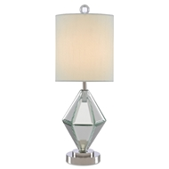 Currey & Company Lighting Alexia Table Lamp 6000-0449 - Mirror/Polished Nickel
