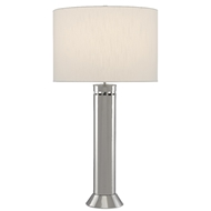 Currey & Company Lighting Alford Table Lamp 6000-0505 - Nickel