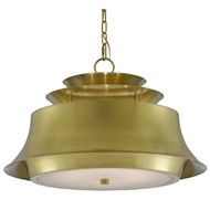 Currey & Company Lighting Altson Brass Pendant 9000-0471 - Polished Brass