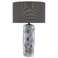 Currey & Company Lighting Couthy Table Lamp 6000-0446 - Gray/Off White