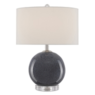 Currey & Company Lighting Dawney Table Lamp 6000-0492 - Dark Blue