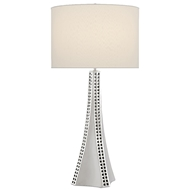 Currey & Company Lighting Druid Table Lamp 6000-0507 - Nickel