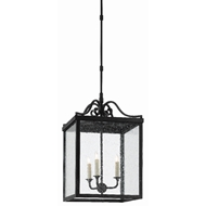 Currey & Company Lighting Giatti Large Outdoor Lantern 9500-0006 - Midnight