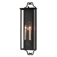 Currey & Company Lighting Giatti Medium Outdoor Wall Sconce 5500-0008 - Midnight