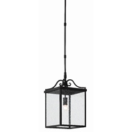 Currey & Company Lighting Giatti Small Outdoor Lantern 9500-0005 - Midnight