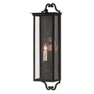 Currey & Company Lighting Giatti Small Outdoor Wall Sconce 5500-0009 - Midnight