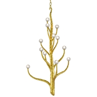 Currey & Company Lighting Loucinda Large Chandelier 9000-0518 - Contemporary Gold Leaf
