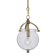 Currey & Company Lighting Peele Pendant 9000-0486 - Antique Brass