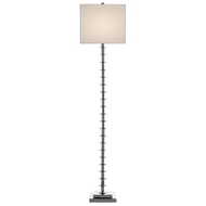 Currey & Company Lighting Provision Floor Lamp 8000-0074 - Nickel