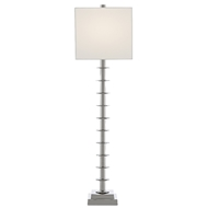 Currey & Company Lighting Provision Table Lamp 6000-0512 - Nickel