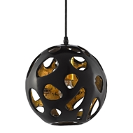 Currey & Company Lighting Pursley Pendant 9000-0493 - Bronze/Gold