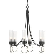 Currey & Company Lighting Relais Chandelier 9000-0470 - Antique Brass/Oil Rubbed Bronze