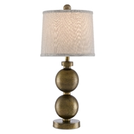 Currey & Company Lighting Replete Table Lamp 6000-0508 - Antique Brass