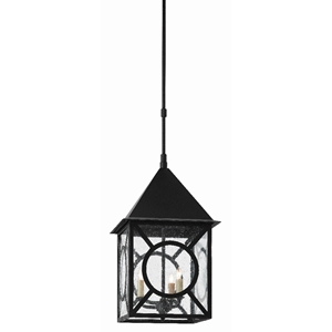 Currey & Company Lighting Ripley Large Outdoor Lantern 9500-0008 - Midnight