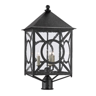 Currey & Company Lighting Ripley Large Post Light 9600-0002 - Midnight
