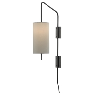 Currey & Company Lighting Tamsin Wall Sconce 5000-0123 - Oil Rubbed Bronze