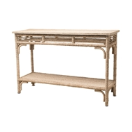 Currey & Company Home Olisa Console Table 3000-0012 - Abaca Rope Wood