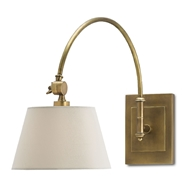 Currey & Company Lighting Ashby Swing-Arm Sconce