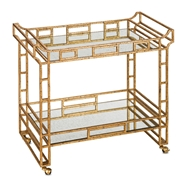 Currey Shade-Odeon Bar Cart