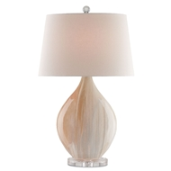 Currey Shade-Opal Table Lamp