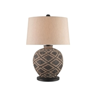 Currey & Company Lighting Afrikan Table Lamp