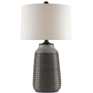 Currey & Company Lighting Chippenham Table Lamp 6000-0058 - Terracotta Wood