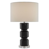 Currey & Company Lighting Bosley Table Lamp 6000-0066 - Marble Crystal Metal