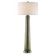 Currey Light Fixtures - 6885 Cassandra Table Lamp-Glass/Metal Table Lamps