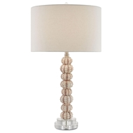 Currey & Company Lighting Darwin Table Lamp 6000-0064 - Composite Optic Crystal Metal