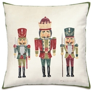 Eastern Accents The Nutcracker Pillows in Lucerne Ivory 52% Cotton, 48% Rayon