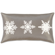 Eastern Accents Frosted Flakes Pillows in Filly White 55% Linen, 45% Cotton