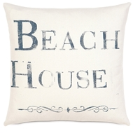 Eastern Accents Beach House Pillows in Adler Natural ?100% Cotton